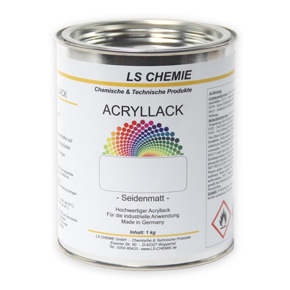 1 Kg Acryllack In RAL 8011 (Nußbraun)
