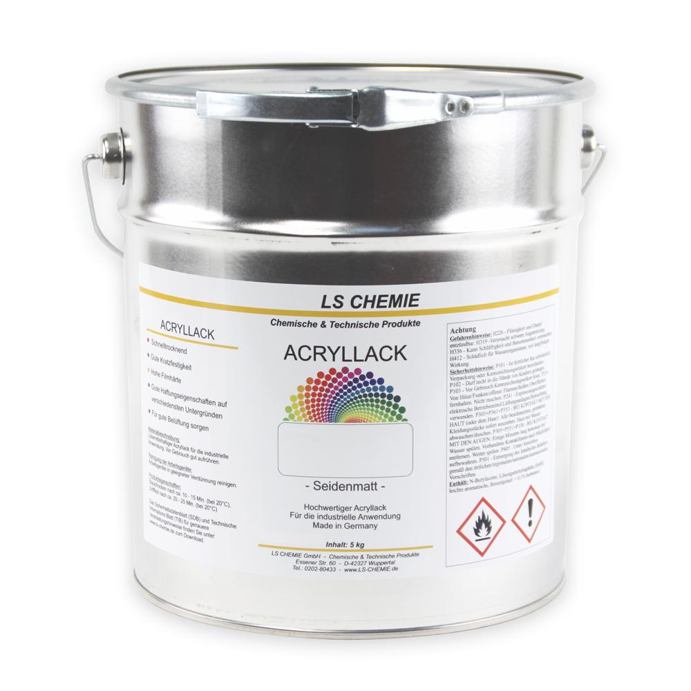 5 Kg Acryllack In RAL 7016 (Anthrazitgrau)