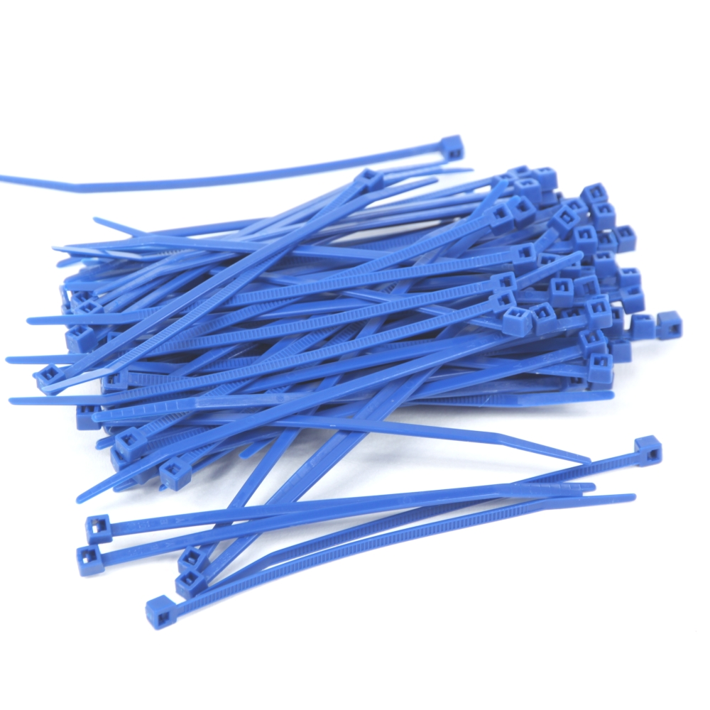 200 mm x 4,8 mm 1 VE = 100 Kabelbinder in Grün