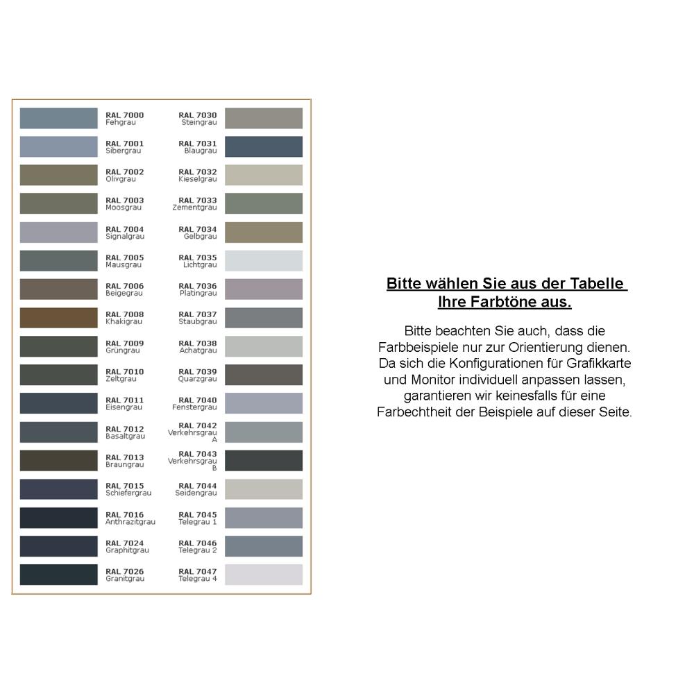 1 kg Acryllack in RAL 7016 (Anthrazitgrau) - Seidenmatt
