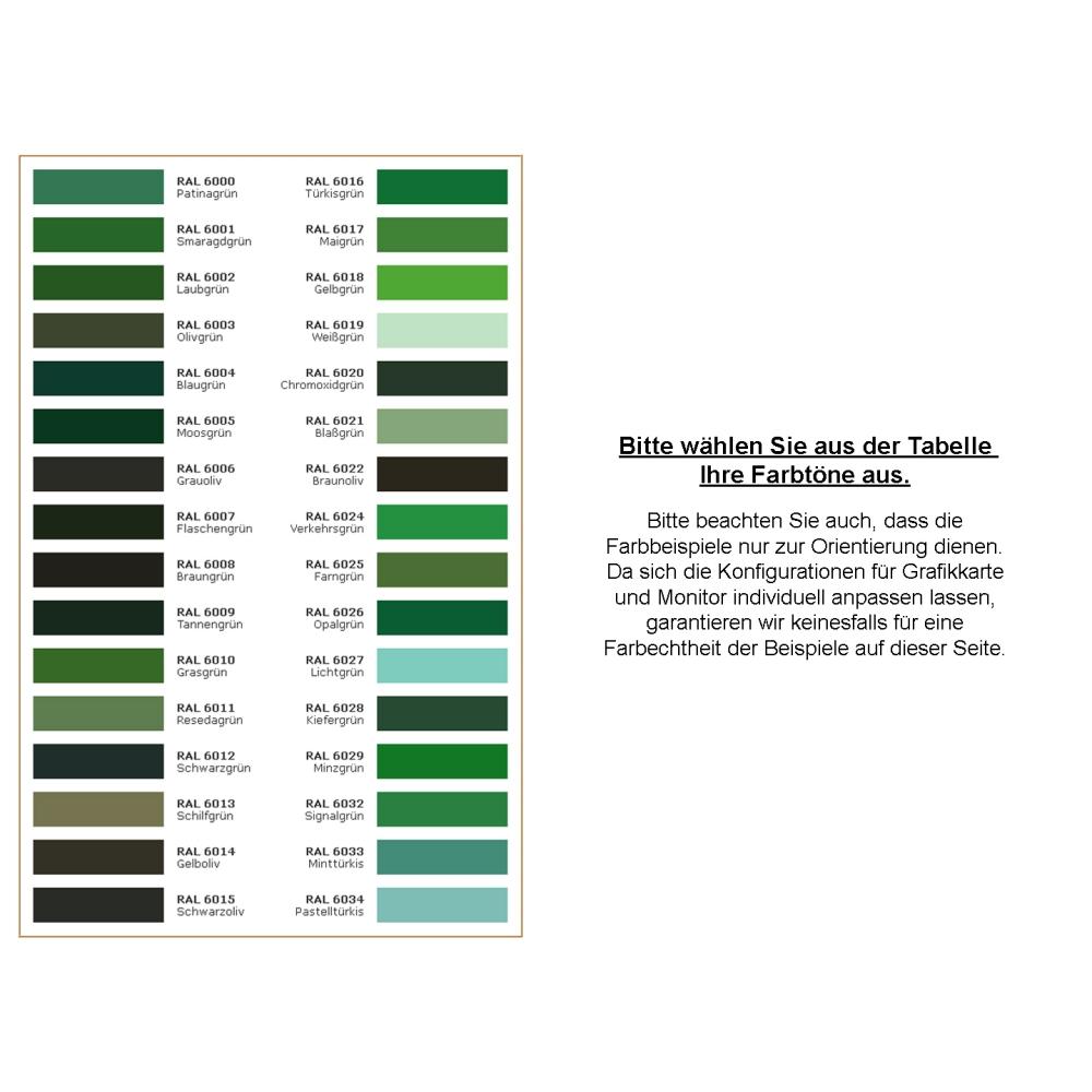 5 Kg Acryllack In RAL 6000 (Patinagrün)