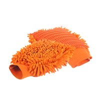 Waschhandschuh - DUO aus Microfaser in Orange