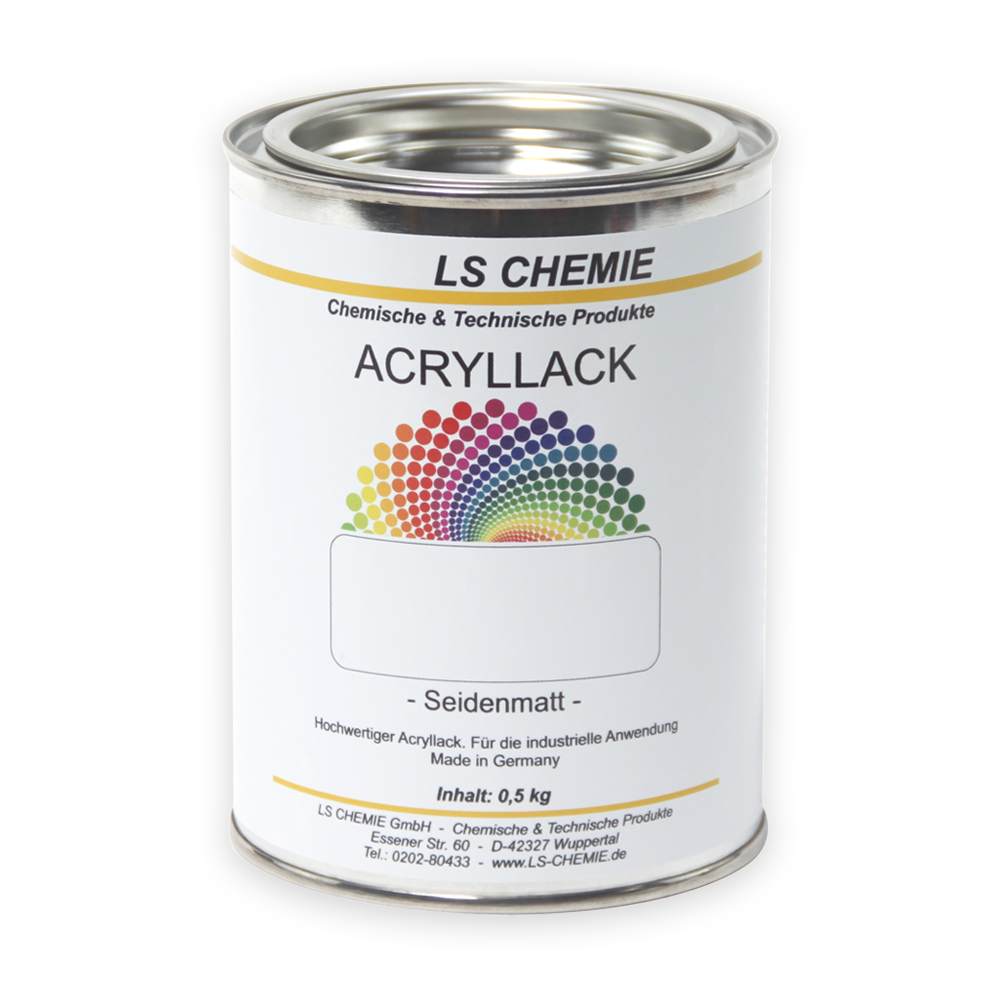 0,5 Kg Acryllack In RAL 5000 (Violettblau)